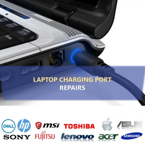laptop charging repair dell hp acer toshiba lenovo sony