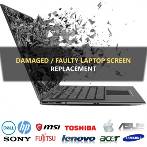 laptop screen repair for hp acer toshiba dell laptop